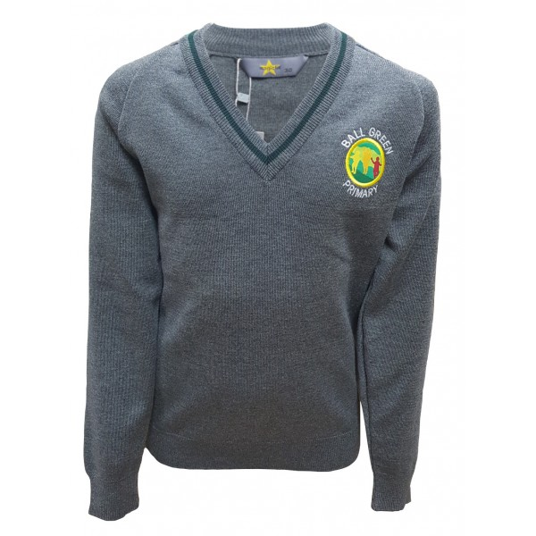 Ball Green Primary School Jumper - With Personalised Initials