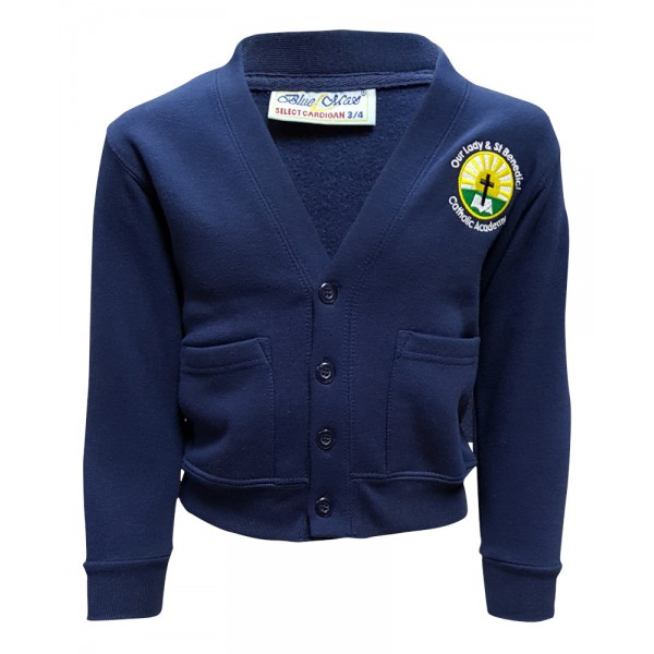Our Lady & St Benedict Cardigan