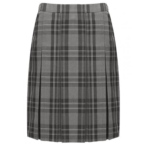 Birches Head Tartan Grey Skirt