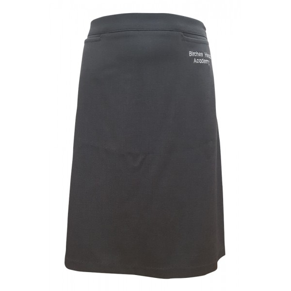 Birches Head Grey Straight Skirt