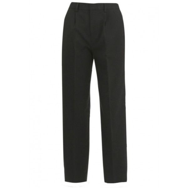 Boys Slim Cut Harrow Grey Trousers