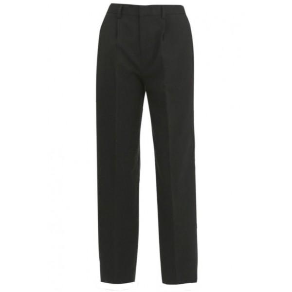 Boys Slim Cut Harrow Grey Trousers
