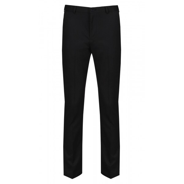 Boys Senior Black Sturdyfit Trousers