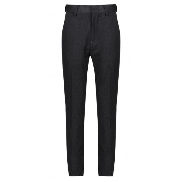 Boys Senior Grey Slimfit Trousers