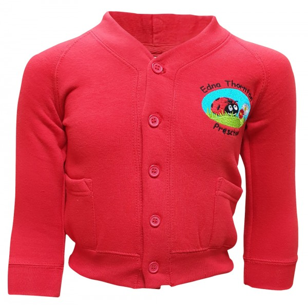 Edna Thornton Preschool Cardigan