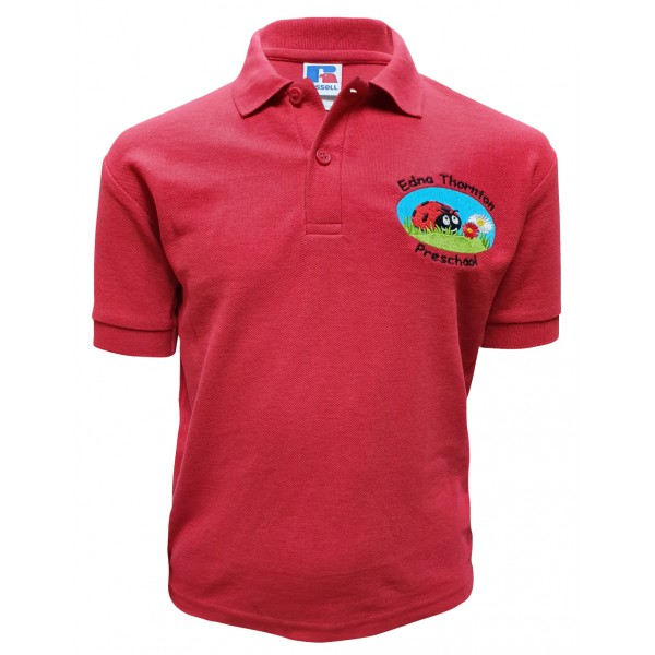 Edna Thornton Preschool Polo Shirt