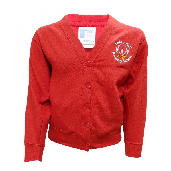Endon Hall Primary Cardigan