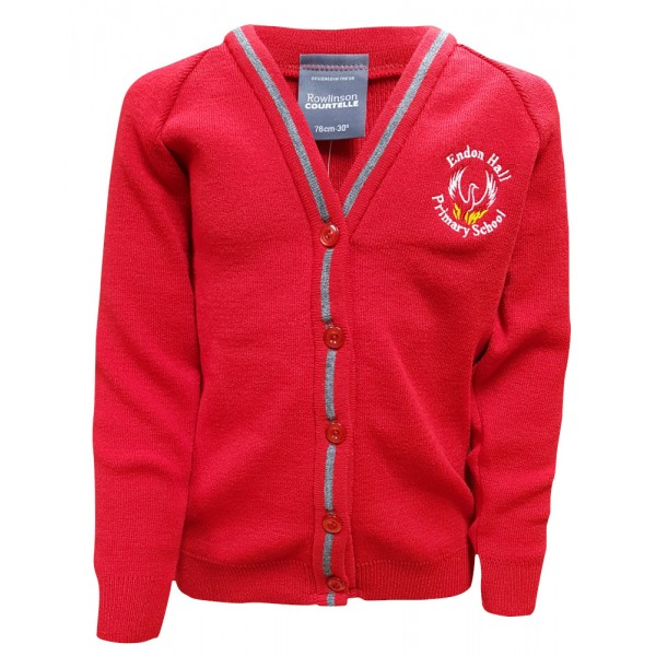 Endon Hall Primary Knitted Cardigan