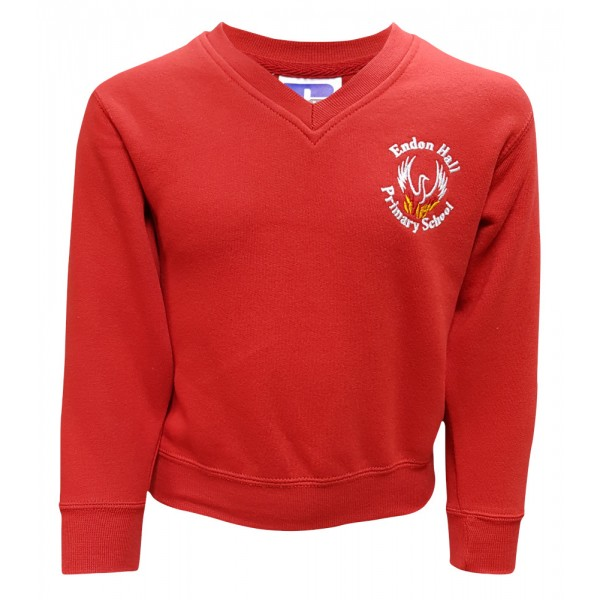 Endon Hall Primary V-Neck Sweatshirt
