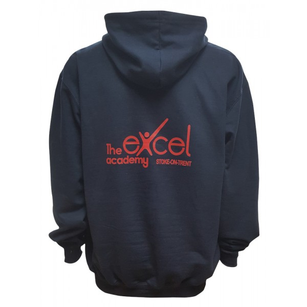 Excel Academy Hoodie With Embroidered Name