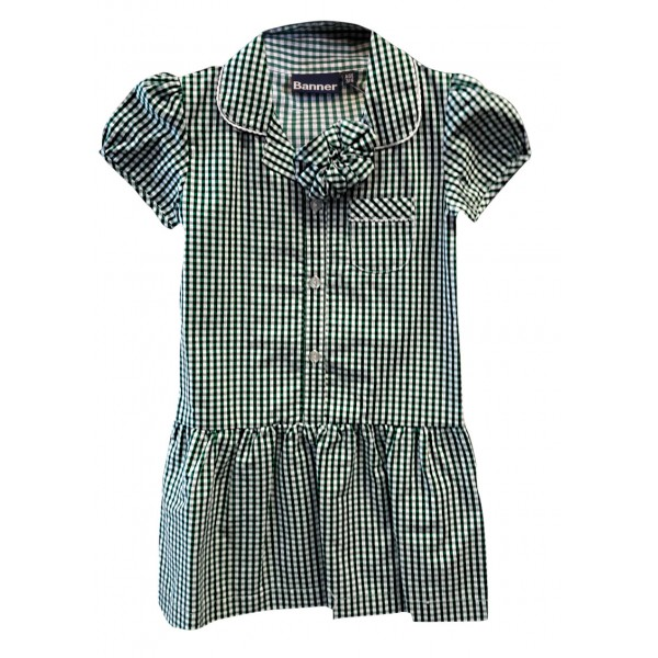 Greenways Dress with Scrunchie ** LIMITED STOCK **