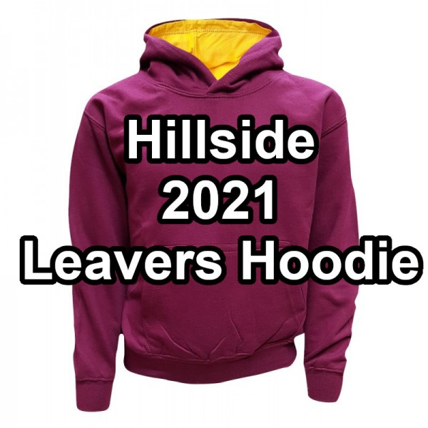 Hillside 2021 Leavers Hoodie