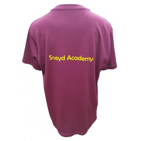 Sneyd Academy School PE T-shirt