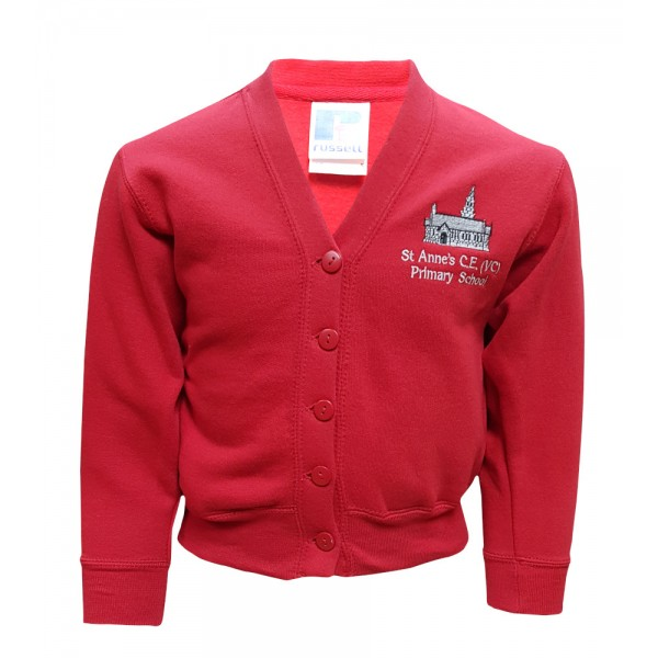 St Anne's Primary Cardigan