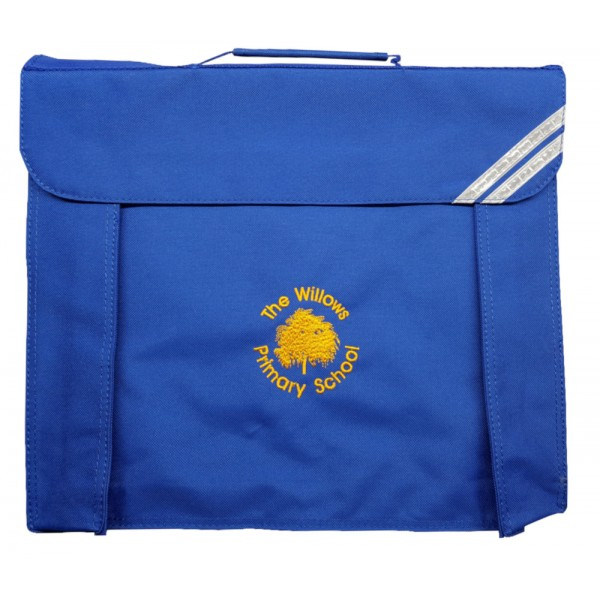 The Willows Primary School Large Book Bag (with strap)