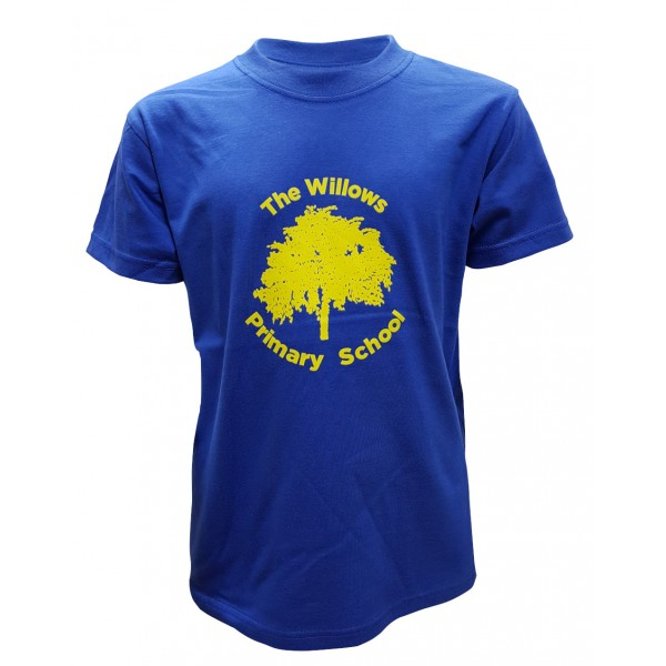 The Willows Primary School PE T-shirt